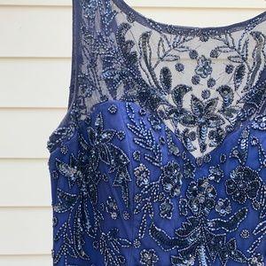Beaded Maxi Formal Dress